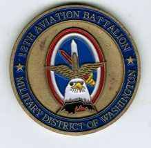 12th Aviation Battalion Challenge Coin 12th AVN Battalion Commander Army MDW - $24.00