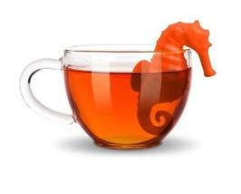 Under The Tea Sea Horse Tea Infuser Loose Leaf Steeper New - £6.75 GBP