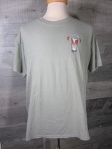 Hanes Beefy T-shirt My Pint Runneth Over The Beer-Attitudes size L - $9.89
