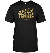 Tennis Evolution Retro Style Graphic T Shirt - $17.99+