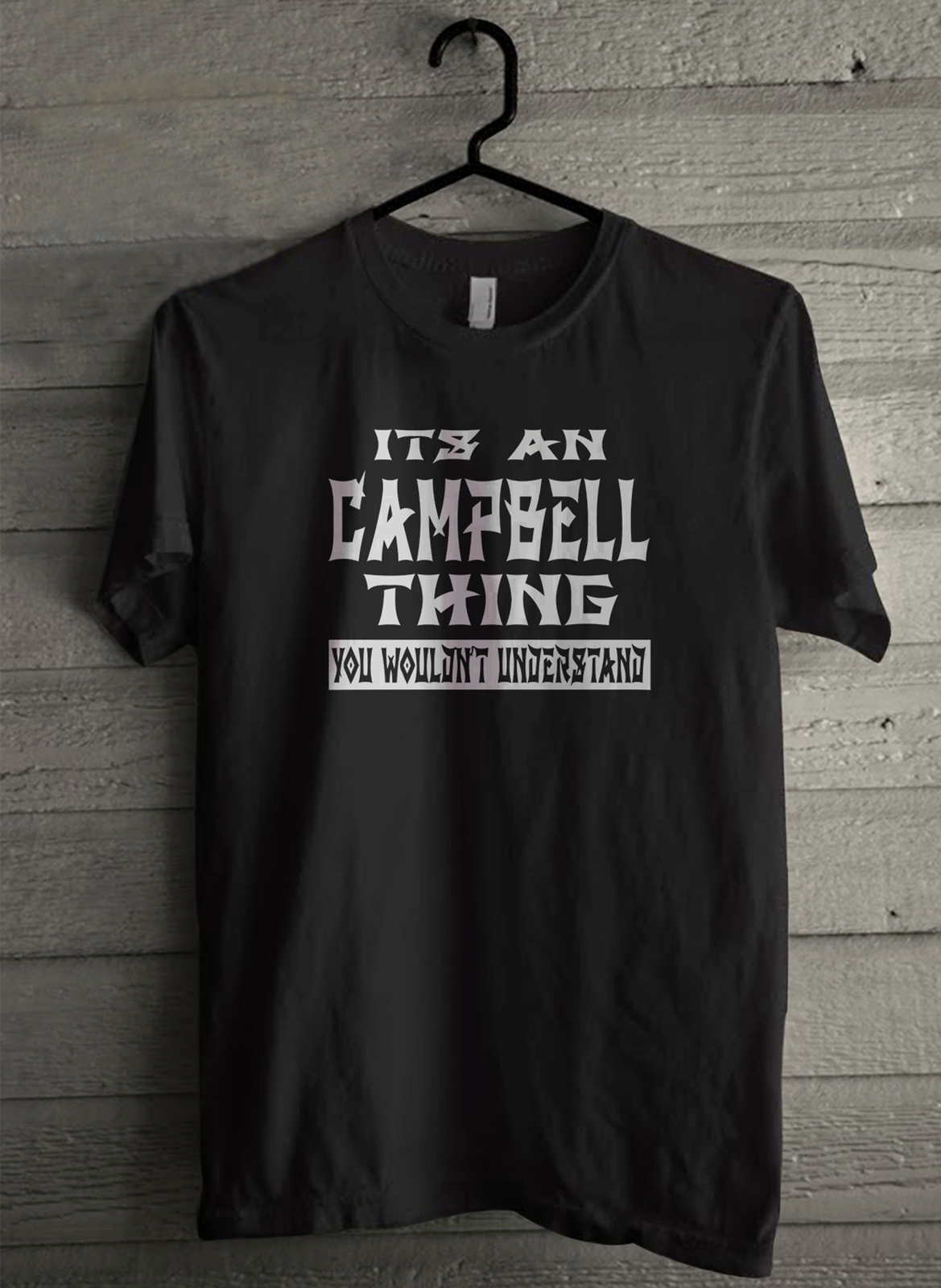It s an campbell thing you wouldn t understand