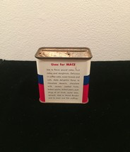 Vintage Schilling Mace spice tin packaging image 2