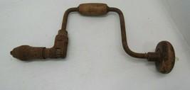 ANTIQUE Brace Bit Hand Drill Auger  Vintage Woodworking Tools - $22.72