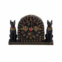 Pacific Giftware Summit Collection Ancient Egyptian Goddess Bastets Desktop Cloc - $29.99