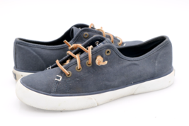 Sperry Top Sider Womens 7.5M Navy STS95129 Pier View Slip On Casual Sneakers  - $22.99