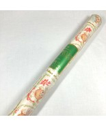 Hallmark Christmas Gift Wrap 15 sq ft Holiday Dolly Dolls Presents New Old Stock - $29.69
