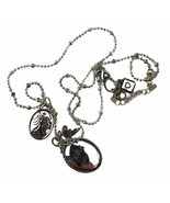 Things Remembered Silver Toned Necklace Thank You Bird Wings Mother's Da... - $13.96
