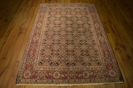 Persian Affordable Hand Knotted 4 x 7 Area Rug Sarouk Oriental design Wo... - $538.87