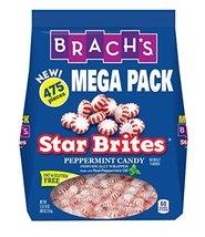 Brach's Star Brites Peppermint Starlight Mints Hard Candy, 5 Pound Bulk Candy Ba - $18.02