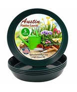 Austin Planter 14 Inch (12.14 Inch Base) Case of 5 Plant Saucers - Hunte... - $18.62