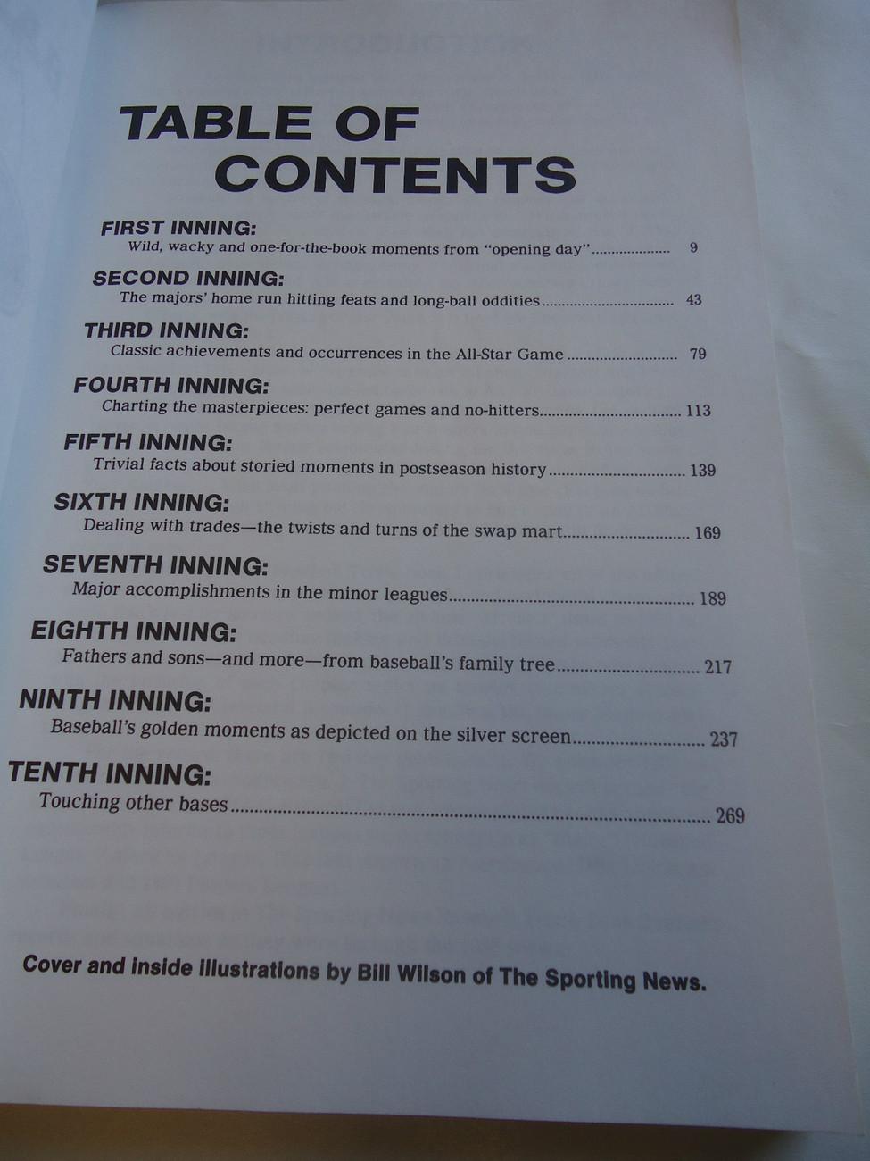 The Sporting News Baseball Trivia 2 1987