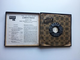 Vintage 1949 Decca 45rpm Twas the Night Before Christmas Record Set image 5