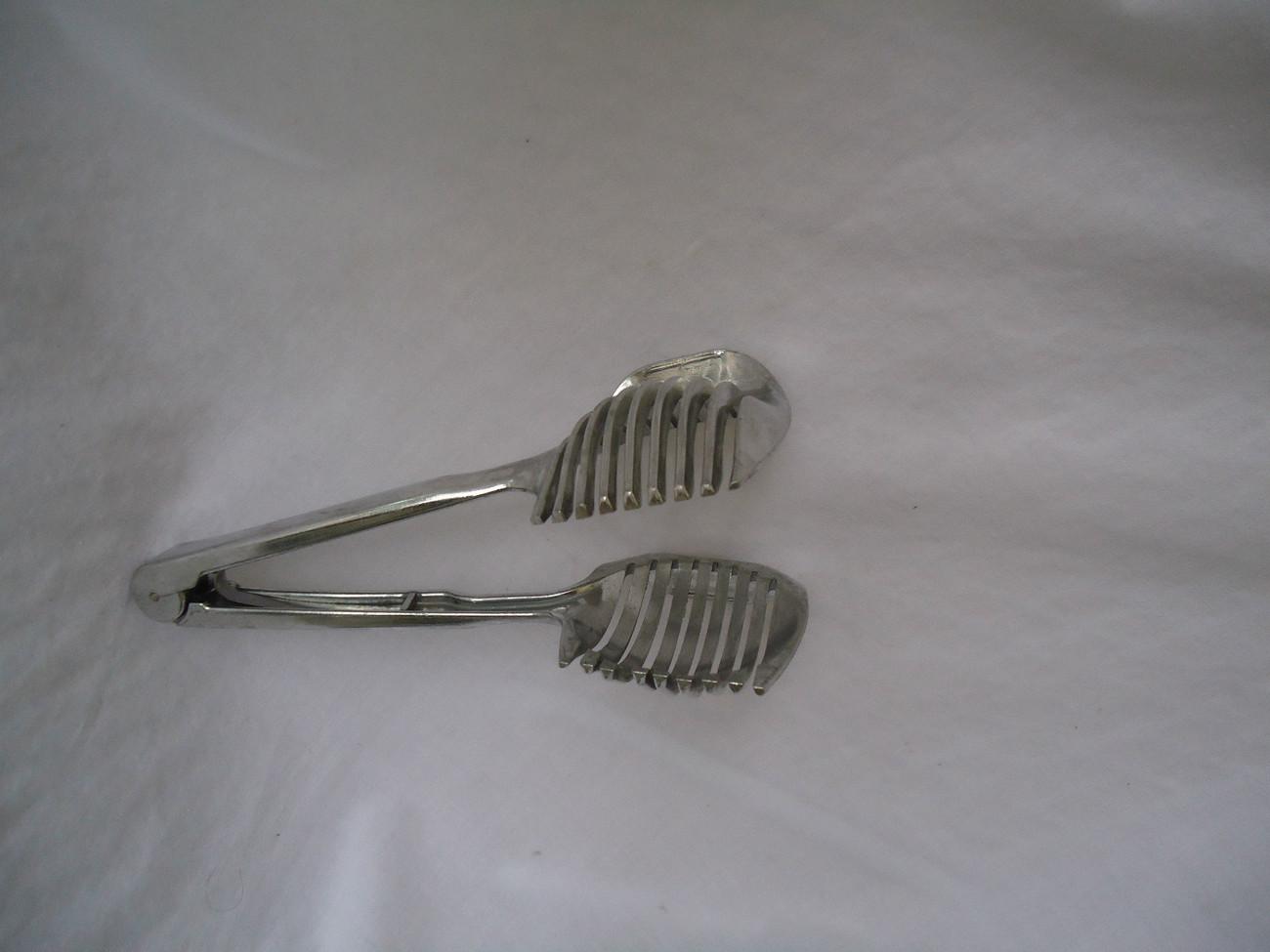 Vintage Cast Aluminum Pasta Strainer and Server Size 2