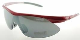 Timberland Wrap Red Gray Gun Sunglasses TB7070 66A - $26.73