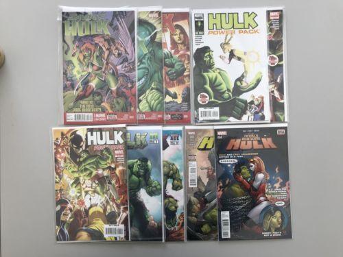 Lot 22 Incredible Hulk Hercules When Titans Collide Broken 3 4 6 VF Very Fine