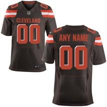 Men's Cleveland Browns Brown Elite Custom Jersey  - $54.99