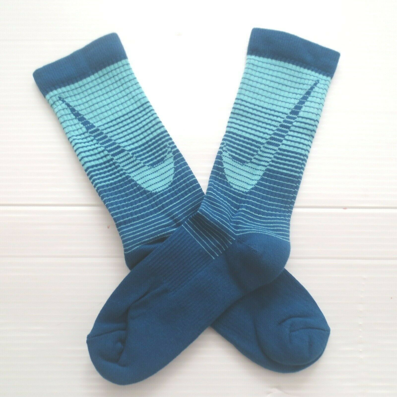 Nike Youth Performance Crew Socks - SX5816 - Dark Blue - Size M - NEW