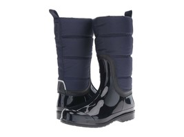 New Michael Kors Women's Cabot Quilted Rain Boots Admiral Blue Variety S... - £84.11 GBP
