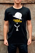 Men T-Shirts Charlie Chaplin Hat New T-Shirt & Women's - $15.94+