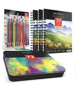 ARTEZA Watercolor Pencils Bundle: Professional Watercolor Pencils Set of... - $70.34