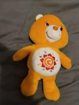"""AMIGO BEAR Care Bear 9"""" 2006 Orange Collectible plush  Sun Adorable  - $14.85"""