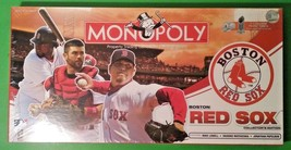 Boston Red Sox Collector's Edition Monopoly Game Parker Brothers 2008 - $74.95