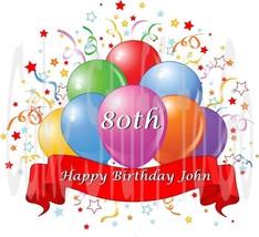 Happy Birthday Balloons Celebration Edible image Cake topper decoration - $8.99