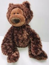 "GUND Philbin Teddy Bear Chocolate Brown 12"" Stuffed Animal Sitting Plush - $14.79"