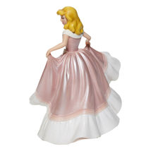 "7.75"" Tall Cinderella in Pink Dress Figurine Celebrating 70th Anniversary Disney image 5"