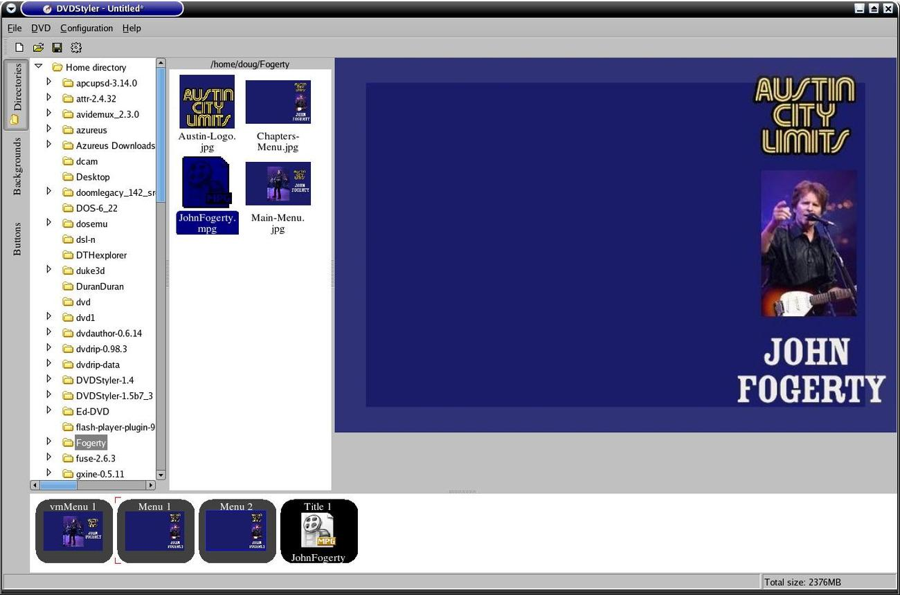 DVD STYLER DVD Authoring Application for the Creation of Professional Look DVD's