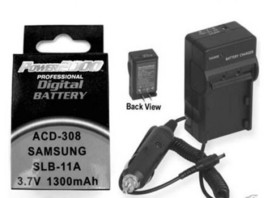 Battery + Charger For Samsung ECWB100B EC-WB100BBP/E3 - $26.97