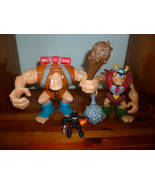 2 PCS FISHER PRICE GREAT ADVENTURE CASTLE GIANT AND TALKING CASTLE CYCLOPS  - $12.00