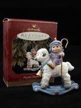 Hallmark Keepsake Ornament 1997 Playful Shepherd - $8.54