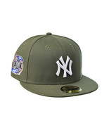 New Era New York Yankees Subway Series 59Fifty Fitted Men's Hat Olive 70... - $46.00