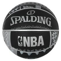 "Spalding NBA San Antonio SPURS Basketball Game Ball Size 7 / 29.5"" 83-639Z - $37.99"