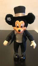 "Vintage Mickey Mouse 11"" Plush Toy Doll by Applause - $14.03"