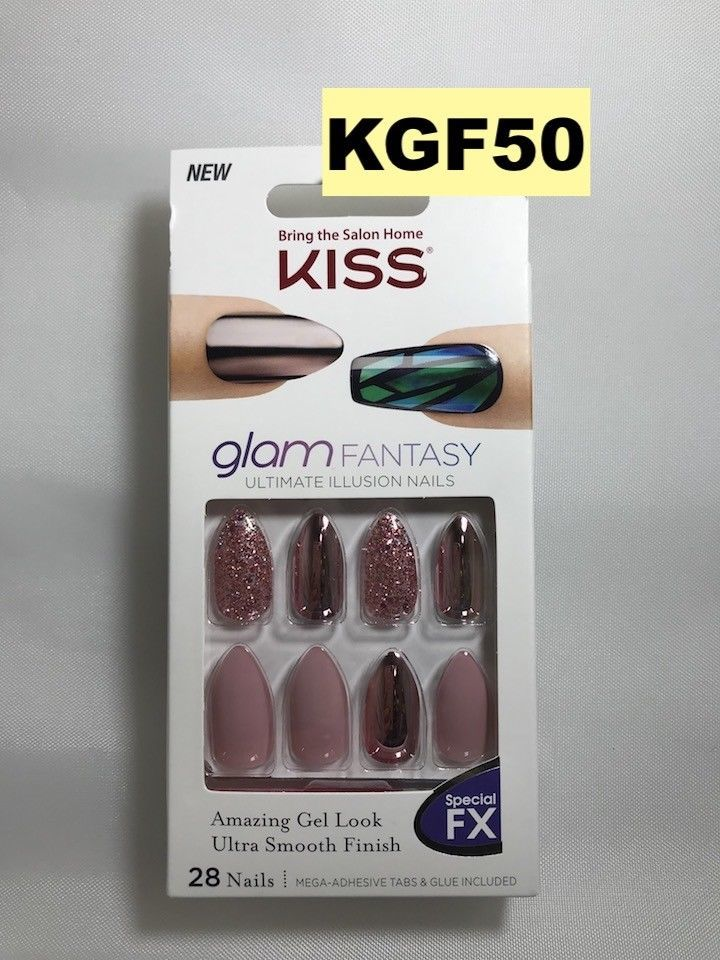 Kiss Glam Fantasy Ultimate Illusion Nails and 50 similar items