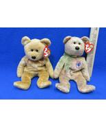 TY Beanie Babies Plush Original Stuffed Bears 2000 Speckles 2000 Cashew ... - $12.22