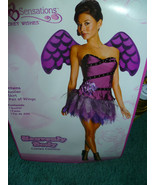 NEW ADULT WOMAN'S PURPLE COLORED HEAVENLY FAIRY... - $27.50