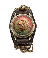 Steampunk Neo-Gothic Style Antique Bullet Skeleton Men's Watch Automatic Self Wi - $49.98