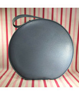 "Rare Vintage 1950's Blue Starline 16"" Round Train Case Lady Baltimore Lu... - $95.00"