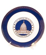 Stunning Ceramic US Capitol Plate with Display Stand - Washington DC Sou... - $19.99