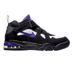 Nike Air Force Max CB Charles Barkley Purple Black Mens Size 12 AJ9722 004 - $99.95
