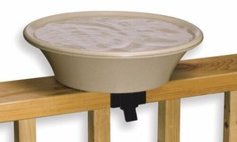 Allied Precision Four Seasons Heated Bird Bath w/EZ Tilt Deck Mounting a... - $64.13