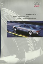 1999 Audi A8 3.7 4.2 quattro sales brochure catalog 99 US - $10.00