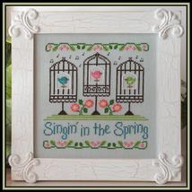 Singin In The Spring cross stitch chart Country Cottage Needleworks - $7.20