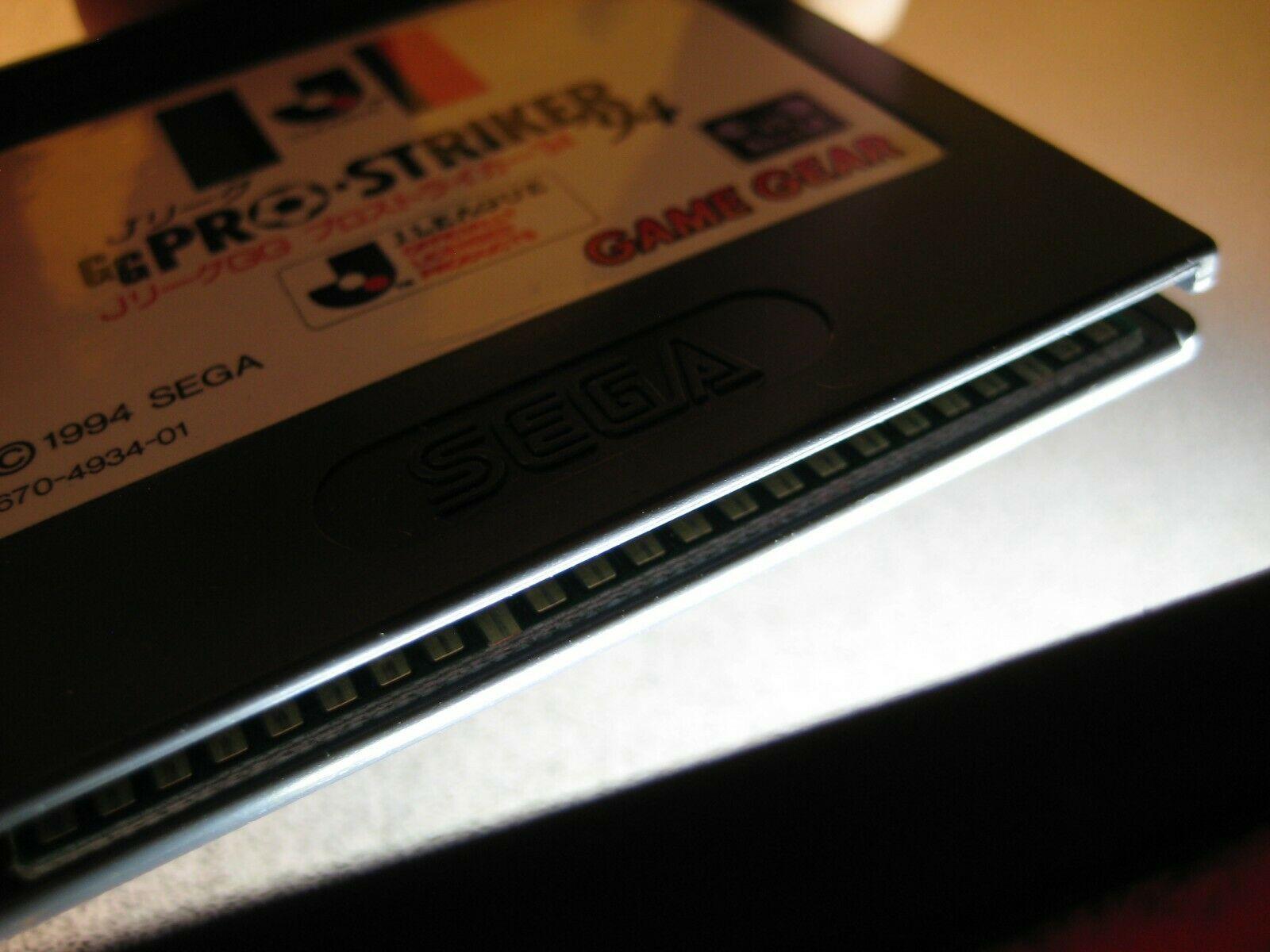 J.League GG Pro Striker 94 Sega Game Gear Cartridge with Case Soccer Football image 2