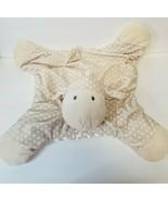 Baby Gund Roly Polys Comfy Lamb Plush Lovy Security Blanket Polka Dot Plush - $15.70