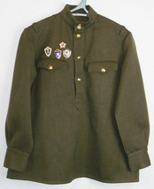 WW2 Design Soviet Red Army RKKA Combat Military Uniform Field Tunic Shir... - $38.61