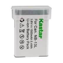 Kastar Digital Camera Battery Replacement for Canon NB-13L 13LH Battery ... - $38.99